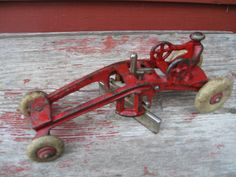 Antique Cast Iron Toy Kenton Road Grader 1930 by PiecesOfOlde, $175.00