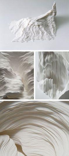 "ṣaḳǘʀạ ʀạḯƞ 桜雨 on Twitter: ""Cut Paper Art | Noriko Ambe https://t.co/NUJ9krlz0F"""