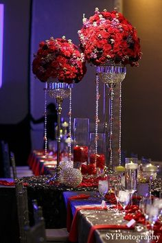 Vegas theme wedding decorations vegas themed wedding by nupts an indian bride and groom celebrate at their las vegas themed wedding reception junglespirit Image collections