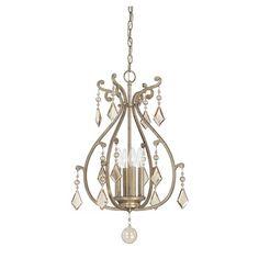 Rothchild Foyer Pendant   Savoy House at Lightology $312 oxidized silver