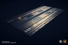 Sci-Fi Modular Floors, Stepan Zaletskiy on ArtStation at https://www.artstation.com/artwork/EYrNN