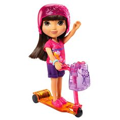 Dora doll with soft hair and poseable arms and legs!