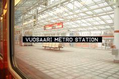 Vuosaari metro station / Helsinki Metro Station, Helsinki, Short Film, Finland, Real Life