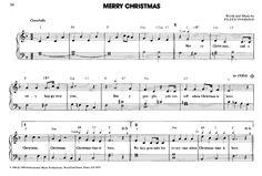 Merry Christmas >>> KLICK auf die Noten um Reinzuhören <<<