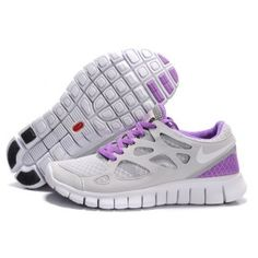 the latest 53cac 1e811 Billig luksuri se Dame Nike Free Run Plus 2 Lime Lilla Sko Running Shoes  Nike