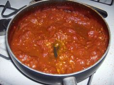 Single Girl Gourmet: Marinara sauce - SGG 2010 goal!