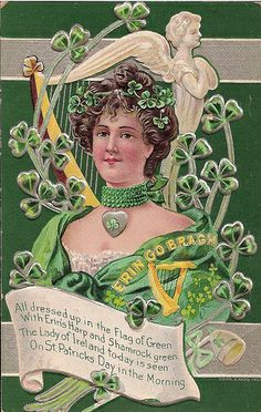 HAPPY ST. PATRICK'S DAY TO ALL!  St. Patrick's Day postcard
