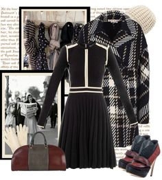 """WHAT A WONDERFUL COAT"" by bodangela ❤ liked on Polyvore"