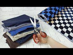 IMPRESIONANTE RECICLAJE DE PANTALONES VIEJOS! ¡SOLO MIRA EL RESULTADO! - YouTube Sewing Hacks, Sewing Tutorials, Sewing Ideas, Recycling, Learn To Sew, Fabric Decor, Crochet Baby, Louis Vuitton Damier, Diy And Crafts