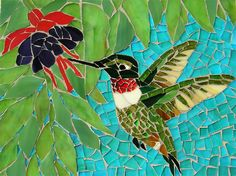 190 Best Hummingbirds Mosaics Images In 2019 Mosaic