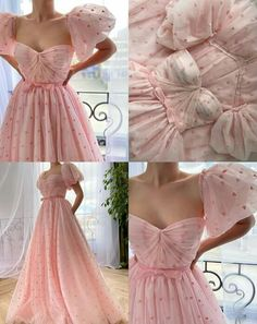 Prom Party Dresses, Ball Dresses, Ball Gowns, Dress Party, Pretty Outfits, Pretty Dresses, Elegant Dresses, Vintage Dresses, Lady Like
