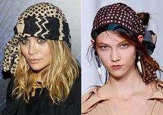 headscarves | Headscarves: The Perfect Summer Topper - ELLE