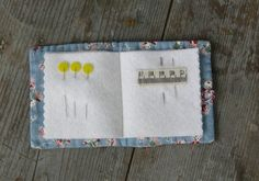 Hand Quilted Needlebook  Kittens by MadeInTheCove on Etsy, $15.00