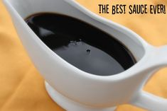 """The Apron Gal: The Best Sauce Ever -- """"I made this sauce to drizzle over grilled pork tenderloin and it was awesome. But now I am convinced it should be drizzled over chicken, pork chops, even steak."""""""
