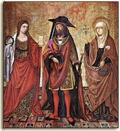 Saints Mary Magdelene, Lazarus, and Martha