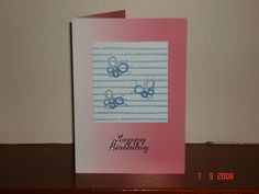 Tatted greeting cards-what a nice way to personalize a special day for someone you care about.