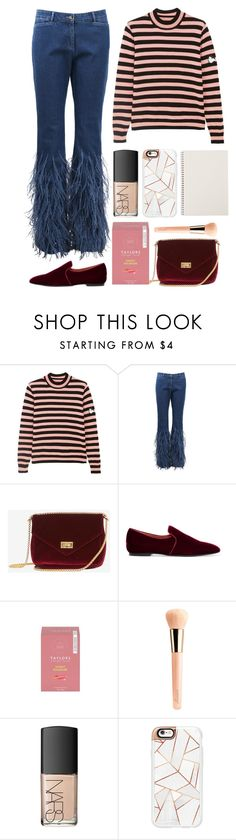 """4.920"" by katrina-yeow ❤ liked on Polyvore featuring Shrimps, Michael Kors, The Row, Guerlain, NARS Cosmetics and Casetify"