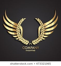 Find Gold Winged Laurel Wreath Logo stock images in HD and millions of other royalty-free stock photos, illustrations and vectors in the Shutterstock collection. Logo Royal, Logo D'art, Phenix Tattoo, Barber Logo, 3d Cnc, Crown Logo, Luxury Logo, Free Logo, Gold Logo