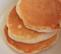 Tortitas para el desayuno de los niños