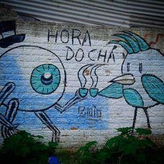 Grafiteiro inglês é outro nível.