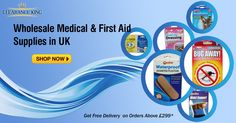 Buy ‪#‎Wholesale‬ ‪#‎Medical‬ Supplies & First Aid Supplies. Get ‪#‎free‬ delivery on orders above £299 at Clearance King ‪#‎firstaid‬ ‪#‎medicalsupplies‬ ‪#‎wholesalefirstaid‬ ‪#‎uk‬ ‪#‎manchester‬ Order Now: http://goo.gl/S3w1QK