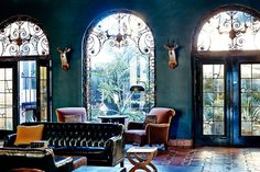 love the rich colors and textures but still feels spanish