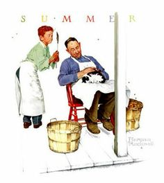 Swatter's Rights,  Norman Rockwell