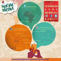 Social Media : FB, Twitter, Web