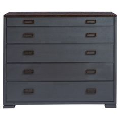 Check out this item at One Kings Lane! Garen Media Dresser, Slate