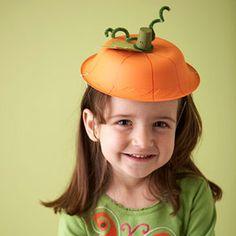 travestimento veloce: il cappello zucca