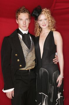 Ben at the Amnesty International Burlesque Party in November 2004, with Siobhan Hewlett