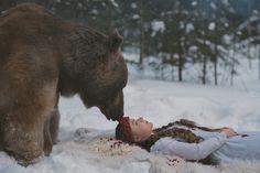 * - Он медведь :)
