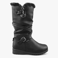 Women's Waterproof Insulated Boots w/ Ice Gripper Waterloo in Black – Comfy Moda 7 Prince, Insulated Boots, Waterproof Winter Boots, Shoe Box, Looking For Women, Ice, Comfy, Stylish, Black