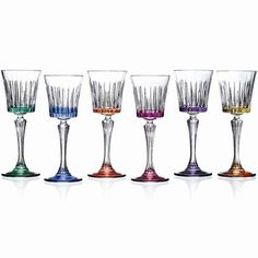 Lorren Home Trends Timeless RCR Crystal Water Goblets
