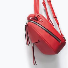 Rucksack with zip-Woman-NEW THIS WEEK | ZARA United States