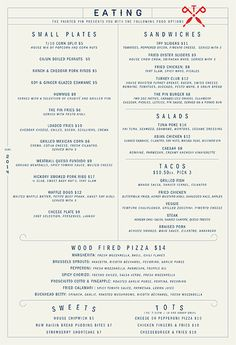 Art of the Menu: The Painted Pin