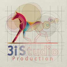 3i Studio logo, branding by Abed Marzouk, via Behance