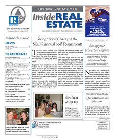 July. 2007 SCAOR Newsletter Cover Design http://dixongraphics.com/portfolio_newsl.htm