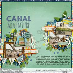 canal adventure by sara espy |  available at sweetshoppedesigns.com Ahoy There by Vera Lim Designs