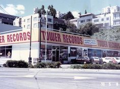 Tower Records, Sunset Blvd. 1970's