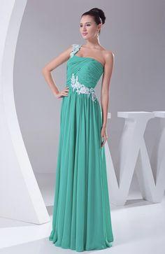 Elegant Backless Chiffon Floor Length Ruching Evening Dresses