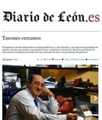 Masaltos en el Diario de León. Tacones cercanos