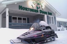 The Northern Door Inn, located in Fort Kent - A great place to stay when visiting the Crown of Maine!