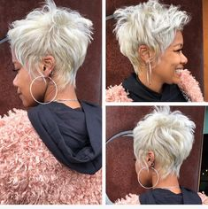 Real blonde girls of Atlanta! 💅🏽#tbt #liketheriversalon #bestofatlanta #modernsalon #thecutlife #premiereorlando #aveda #najahonhair™️ #shorthair @liketheriversalon @beautybeyondthehair