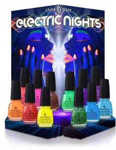 China Glaze Electric Nights 2015 Summer Collection