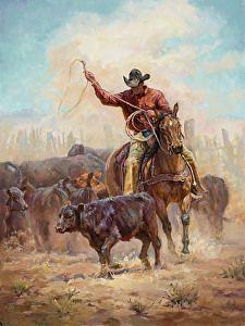 No Escape by artist Shawn Cameron. #westernart found on the FASO Daily Art Show - http://dailyartshow.faso.com