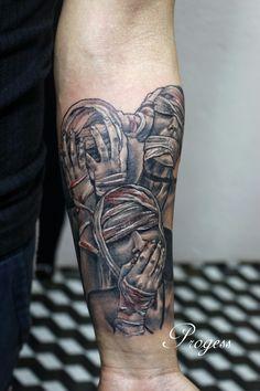 Forarm Tattoos, Forearm Sleeve Tattoos, Best Sleeve Tattoos, Forearm Tattoo Men, Hand Tattoos, Web Tattoo, Cloud Tattoo, Mask Tattoo, Tattoo Lettering Styles