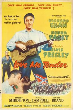 """CAST: Elvis Presley, Richard Egan, Debra Paget, Robert Middleton; DIRECTED BY: Robert D. Webb; Features: - 11"""" x 17"""" - Packaged with care - ships in sturdy reinforced packing material - Made in the US"""