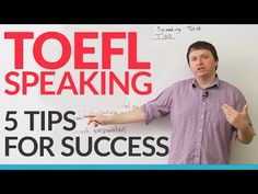 TOEFL iBT: Independent Speaking Task – 5 Ways to Succeed - YouTube -         Repinned by Chesapeake College Adult Ed. We offer free classes on the Eastern Shore of MD to help you earn your GED - H.S. Diploma or Learn English (ESL).  www.Chesapeake.edu