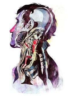 Anatomy [Quain] by Alvaro Tapia Hidalgo (Auch hier wieder das Innere des Körpers. Ungewöhnlich: die Hals- und untere Kopfpartie)
